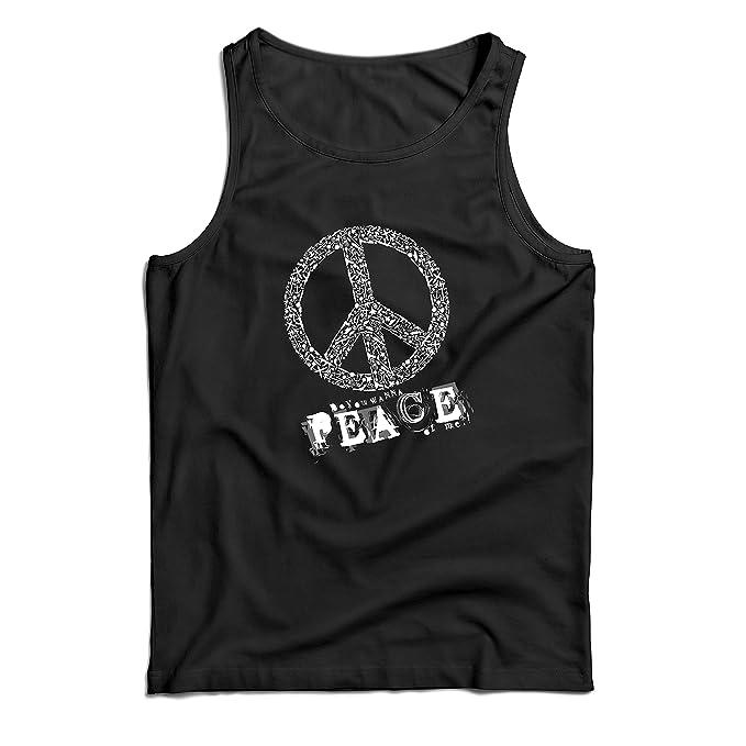 a071c098cf24d lepni.me Men s Tank Top Do You Wanna Piece of Me - Peace Slogan