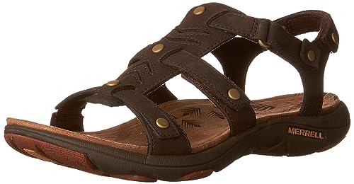 d46fd7777269 Merrell Adhera Three Strap II Women 11 Brown  Amazon.ca  Shoes ...