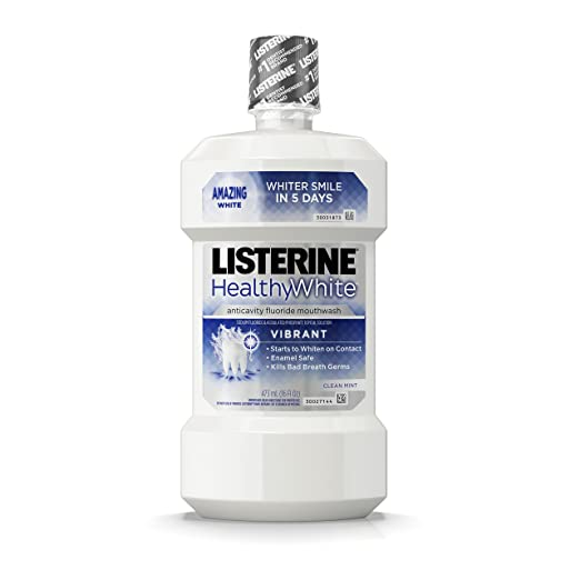 best Listerine whitening mouthwash for super white teeth