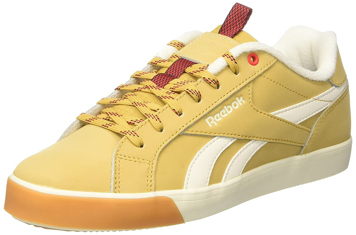 Reebok Herren Royal Complete 2lw Sneaker  40 EU|Gelb (Golden Wheat/Dark Root/Glow Red/Chalk/Gum)