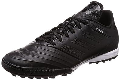 on sale f4843 2d8fd Adidas Copa Tango 18.3 TF, Chaussures de Football Homme, Noir (NegbásFtwbla