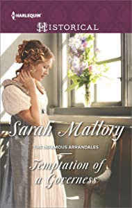 Temptation of a Governess (The Infamous Arrandales)