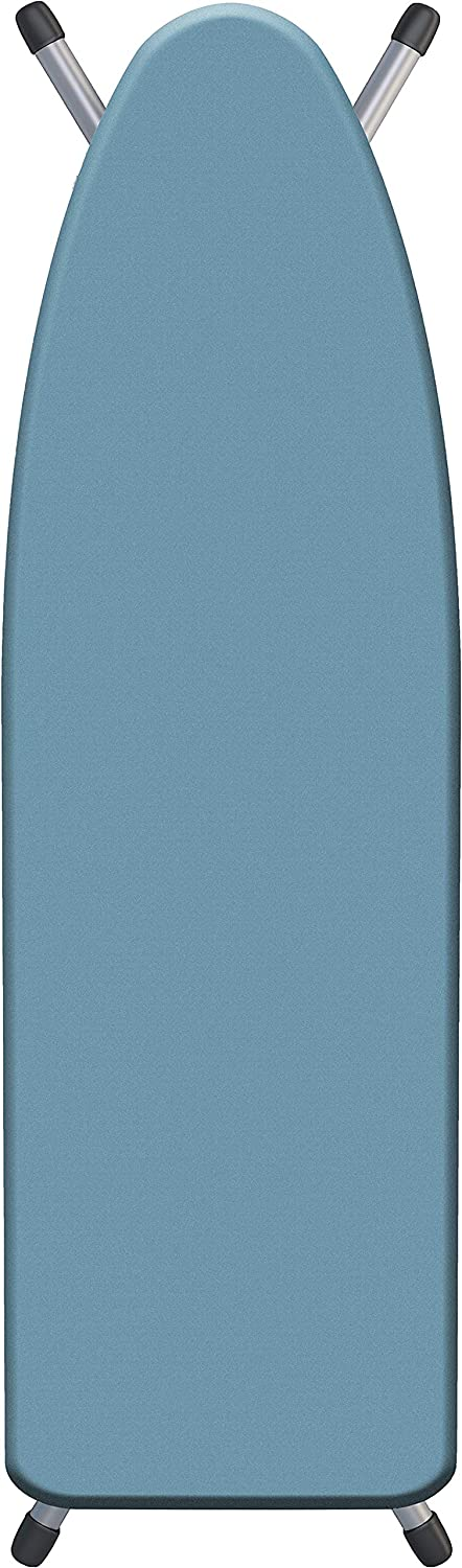 """Laundry Solutions by Westex Supreme Triple Layer Extra-Thick Ironing Board cover, 18"""" x 54"""" Pearlescent Blue"""