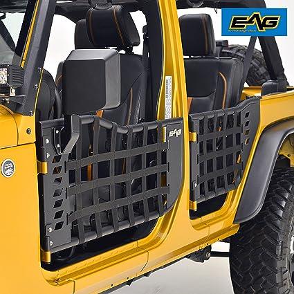 EAG Matrix Tubular Door for 07-18 Jeep Wrangler JK (4 Door Only) & Amazon.com: EAG Matrix Tubular Door for 07-18 Jeep Wrangler JK (4 ...