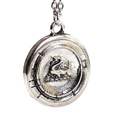 Once Upon A Time Inspired Charm Bracelet - Emma Swan Talisman Antique Silver Charms W9FbKJQQj