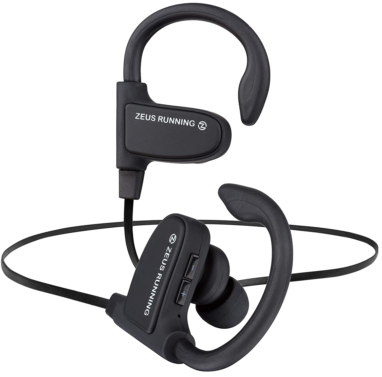 b4a3ae49dfe Wireless Bluetooth Earbuds - New Model 2018 - Adjustable Ear Hooks - Best  HD Stereo Sound Sport Headphones – Small Outdoor Waterproof IPx7 Workout  Earbuds ...