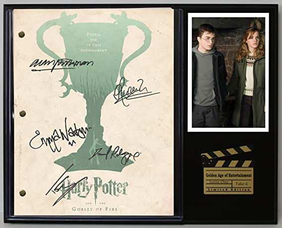 Harry Potter The Goblet Of Fire Limited Edition Reproduction Movie