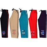 1lycargos Boys Full Pant, 5pcs pack with five different colour
