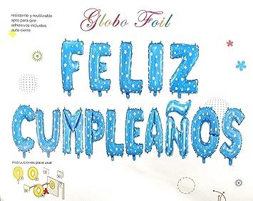 Sin marca Globos de Foil de Aluminio,Feliz cumpleaños,15 pcs,Bandera Fiesta triángulo multiclor