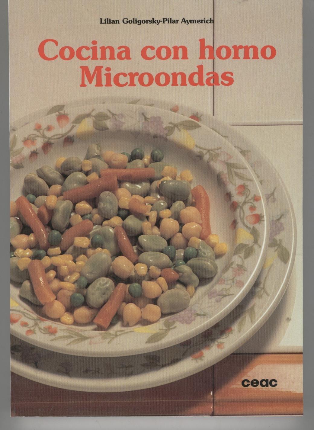 Cocina con horno microondas: Amazon.es: Lilian Goligorsky: Libros