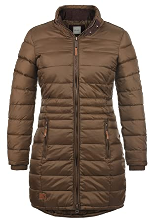 Blend SHE Carlotta Damen Winter Jacke Wintermantel Steppmantel Winterjacke  gefüttert mit Stehkragen, Größe XS abff8bb9f6