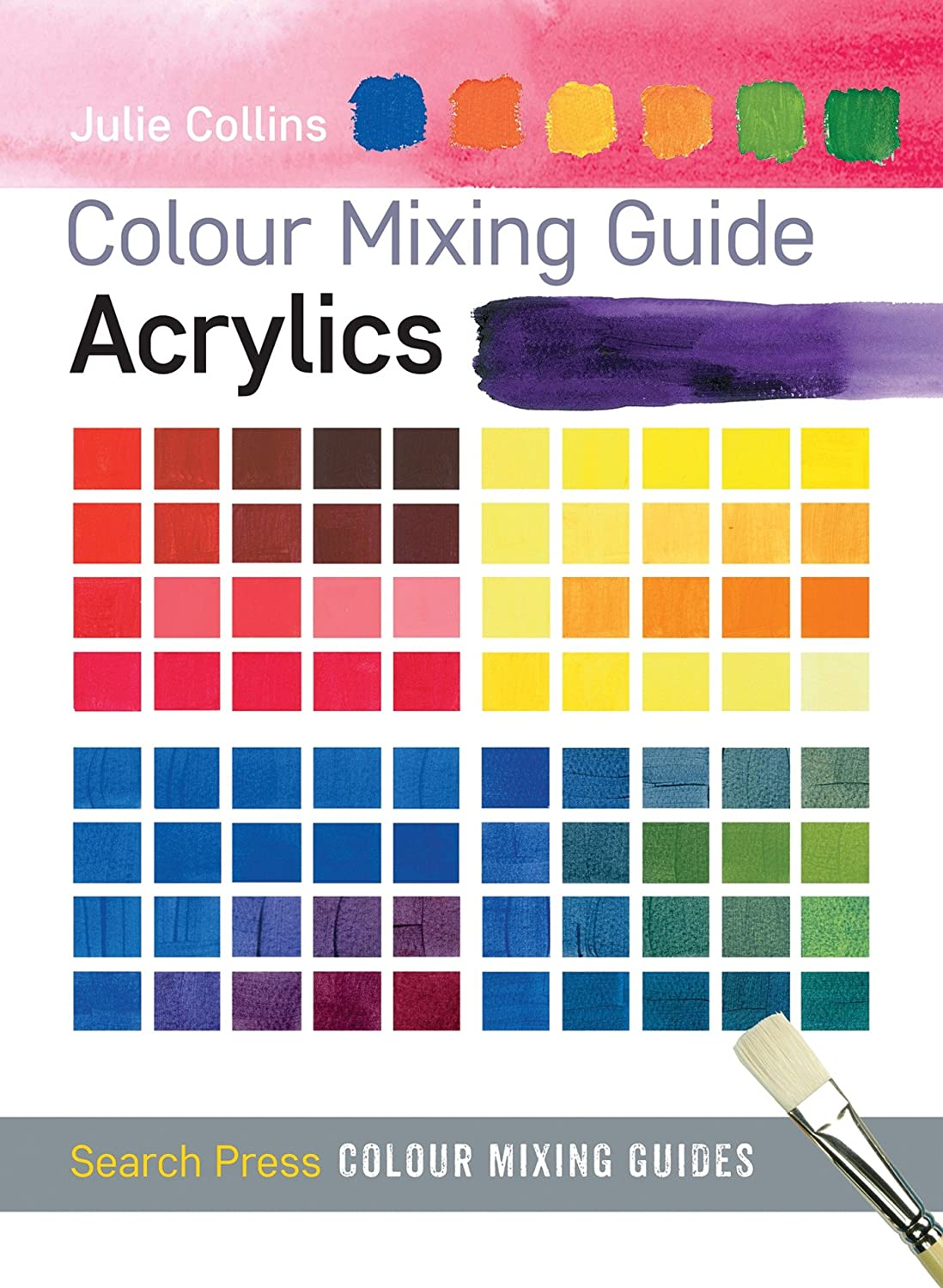 The acrylic paint colour wheel book colour wheel books amazon acrylics colour mixing guides nvjuhfo Choice Image