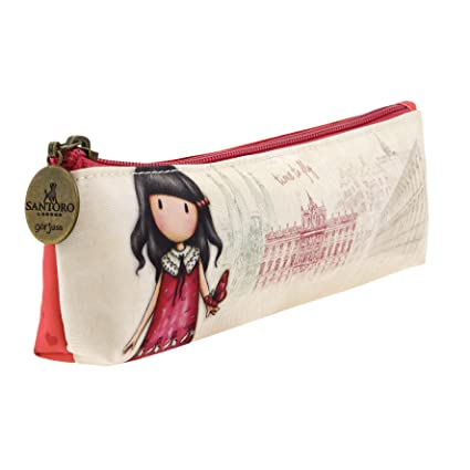 Amazon.com: Gorjuss 775gj04 Pencil Cases, 22 cm, Beige ...