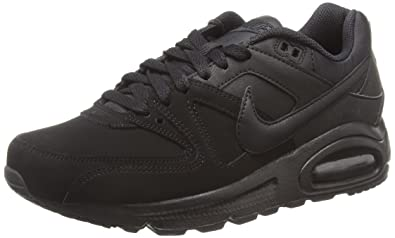 new product 83cf0 4b8e4 Nike Air Max Command Leather, Chaussures de Running Entrainement garçon,  Multicolore-Negro