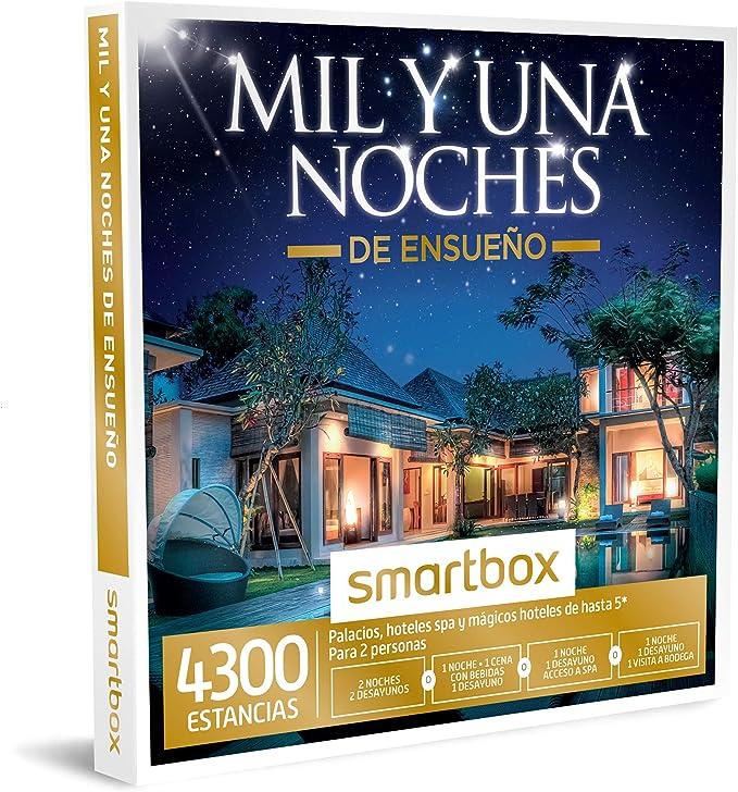SMARTBOX MIL Y UNA NOCHES DE ENSUEÑO - 4300 Estancias, Palacios ...