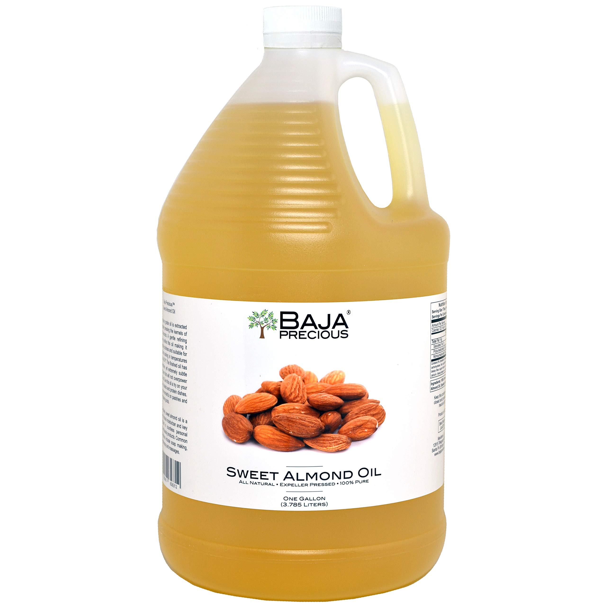 Baja Precious - Sweet Almond Oil, 1 Gallon by Baja Precious