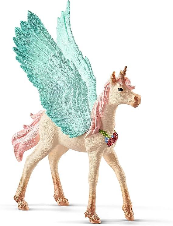 Schleich- Unicornio Pegaso Joya, Potro (70575