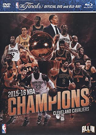 Amazon.com: 2016 NBA Cleveland Cavaliers Champions DVD And Blu-ray ...