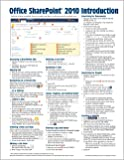 Microsoft SharePoint 2010 Quick Reference Guide: Introduction (Cheat Sheet of Instructions, Tips & Shortcuts - Laminated Card)