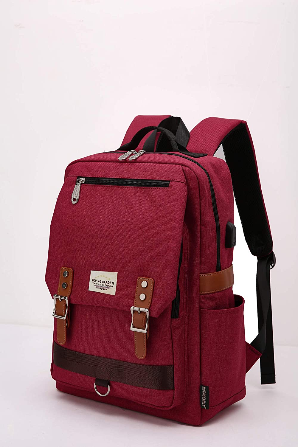 94526870a1 Amazon.com  MOVING GARDEN Laptop Backpack for Women Men