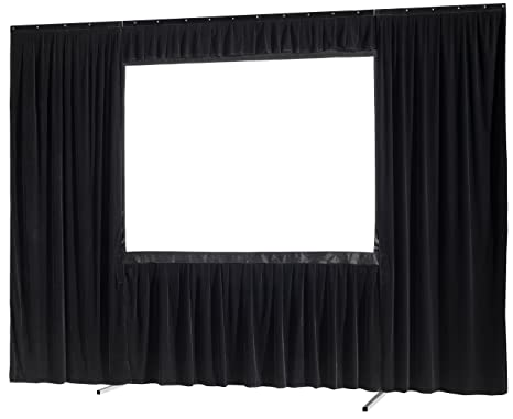 Set de cortinas de 4 piezas celexon para pantalla de marco plegable Mobile Expert 305 x
