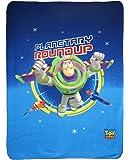 Disney 39419 Toy Story Explorer Plaid Polaire 110 x 140
