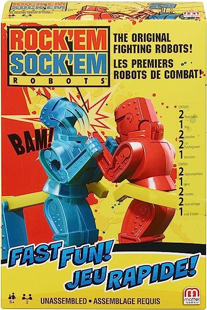 Rock Em Sock Em Robots FMW26 Toy, Multicoloured