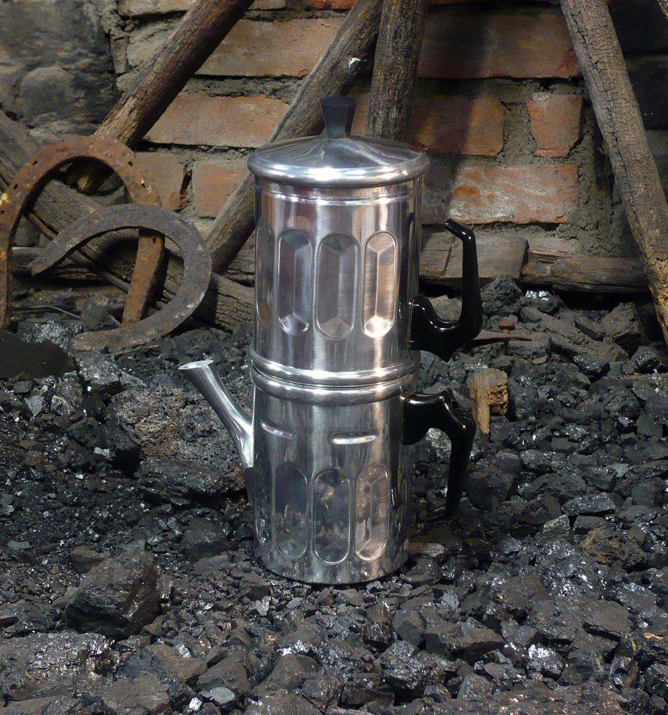 CAFFETTIERA tradizionale NAPOLETANA ALLUMINIO tz. 1-2 ILSA 0006 001