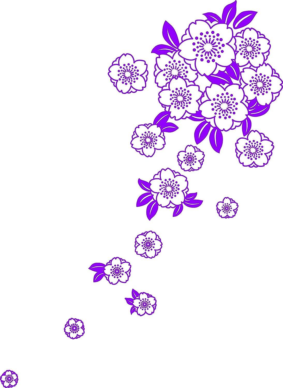 舞杏(ブアン) 和柄グラフィックス L-F アメジスト WAGFKBIGF16 B00JRSIP26 アメジスト アメジスト