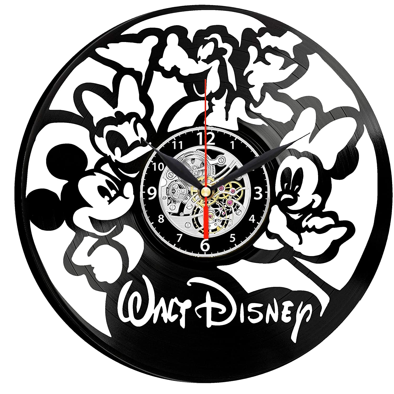 Walt Disney Mickey Mouse - Reloj de Pared de Vinilo, diseño ...