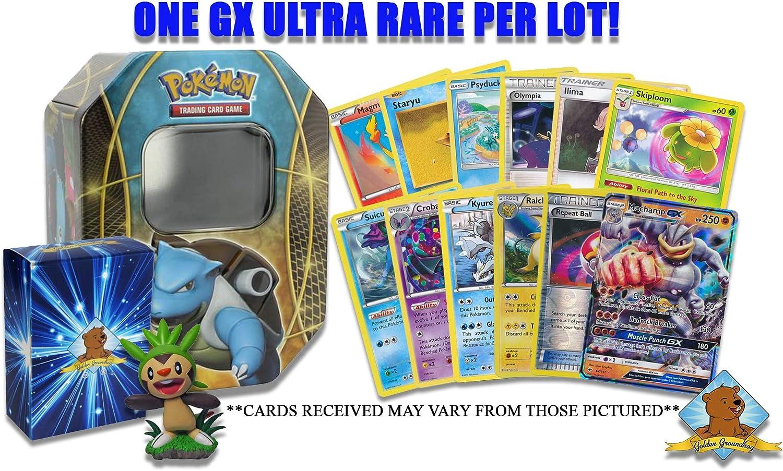 LUNALA GX Pokemon TCG Legends of Alola Tin FACTORY SEALED FAST FREE SHIPPING