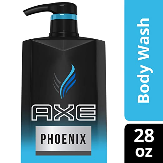AXE Phoenix Body Wash for Men 28 FL OZ, 2 Count