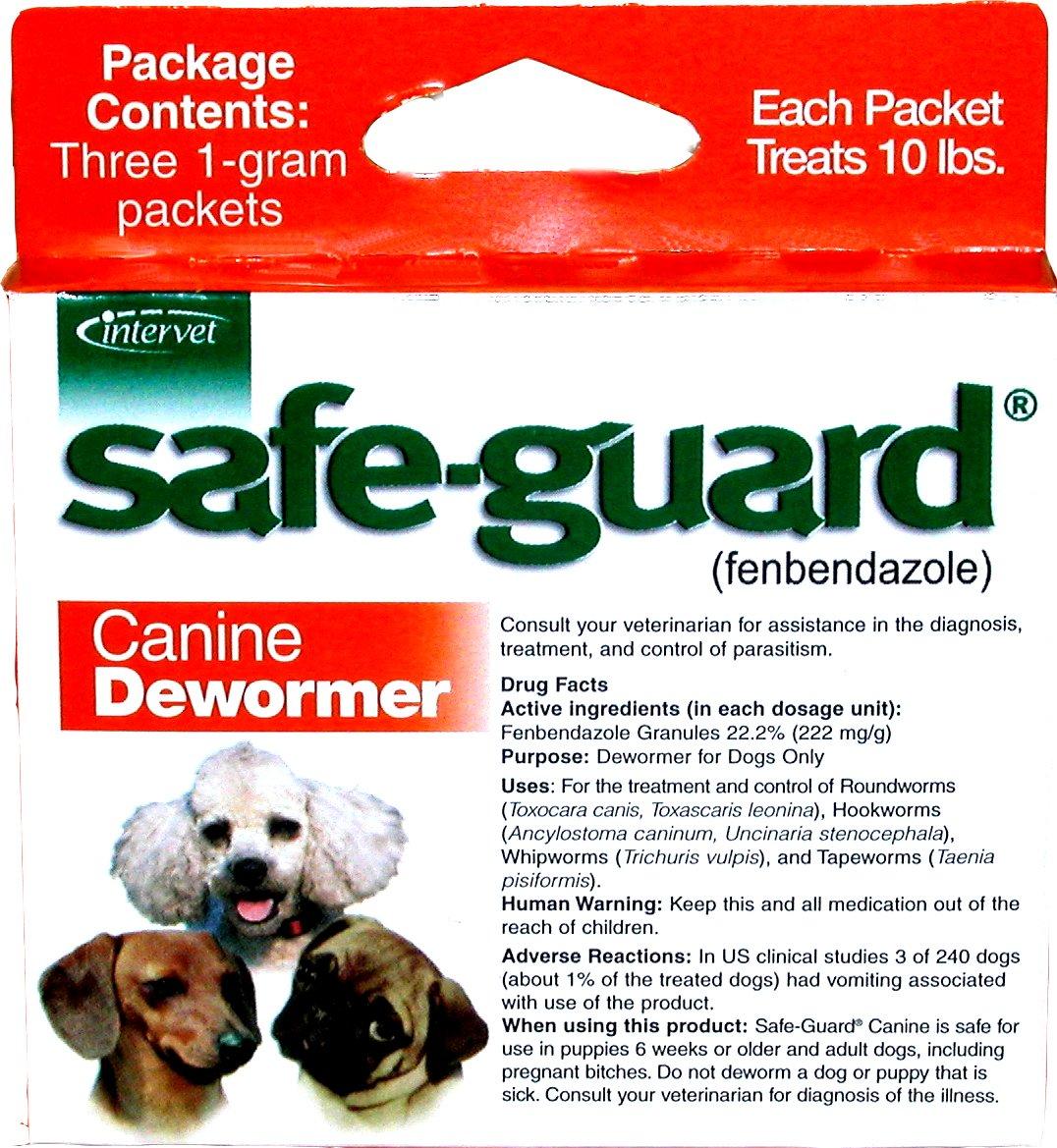 Merck Animal Health Safe-Guard Canine Dewormer, 1 gm