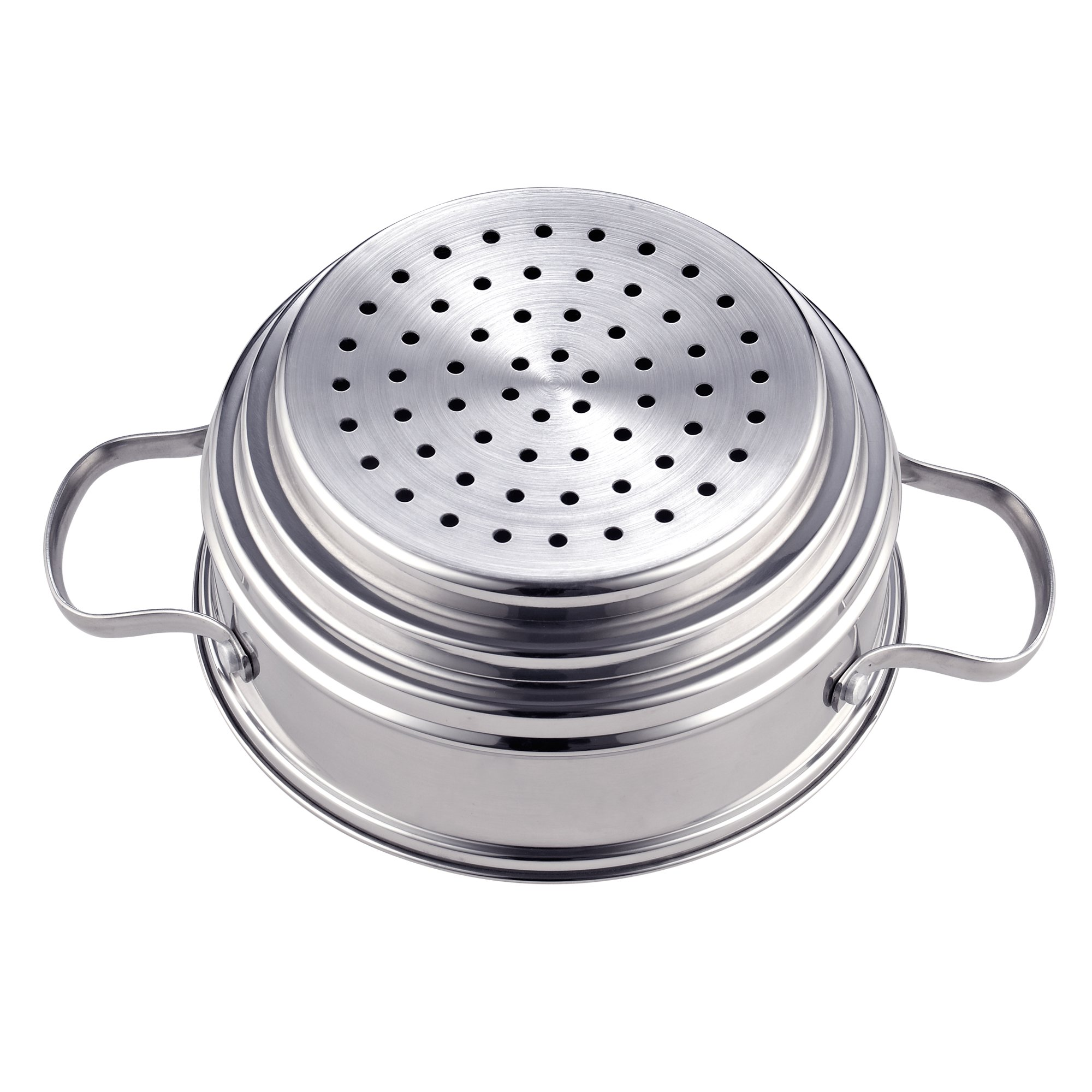 Cook N Home NC-00313 Double Boiler Steamer 4Qt silver by Cook N Home (Image #7)
