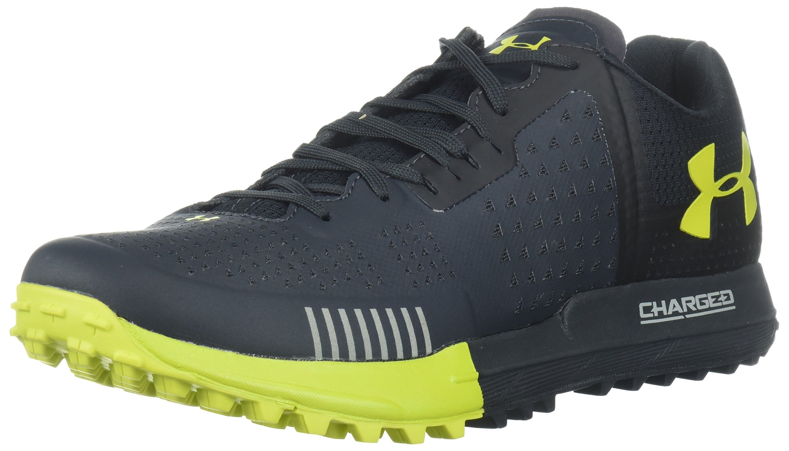 Under Armour Men's Horizon RTT Running Shoe, Anthracite (101)/Gunpowder Green, 10