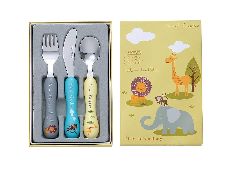 Bon Animal Kingdom 3-Piece Childrens Cutlery Set
