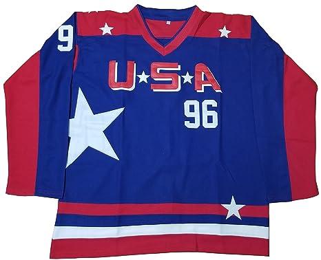 Kooy Charlie Conway  96 Mighty Ducks Movie Hockey Jersey Team USA (Small) cc511de4b