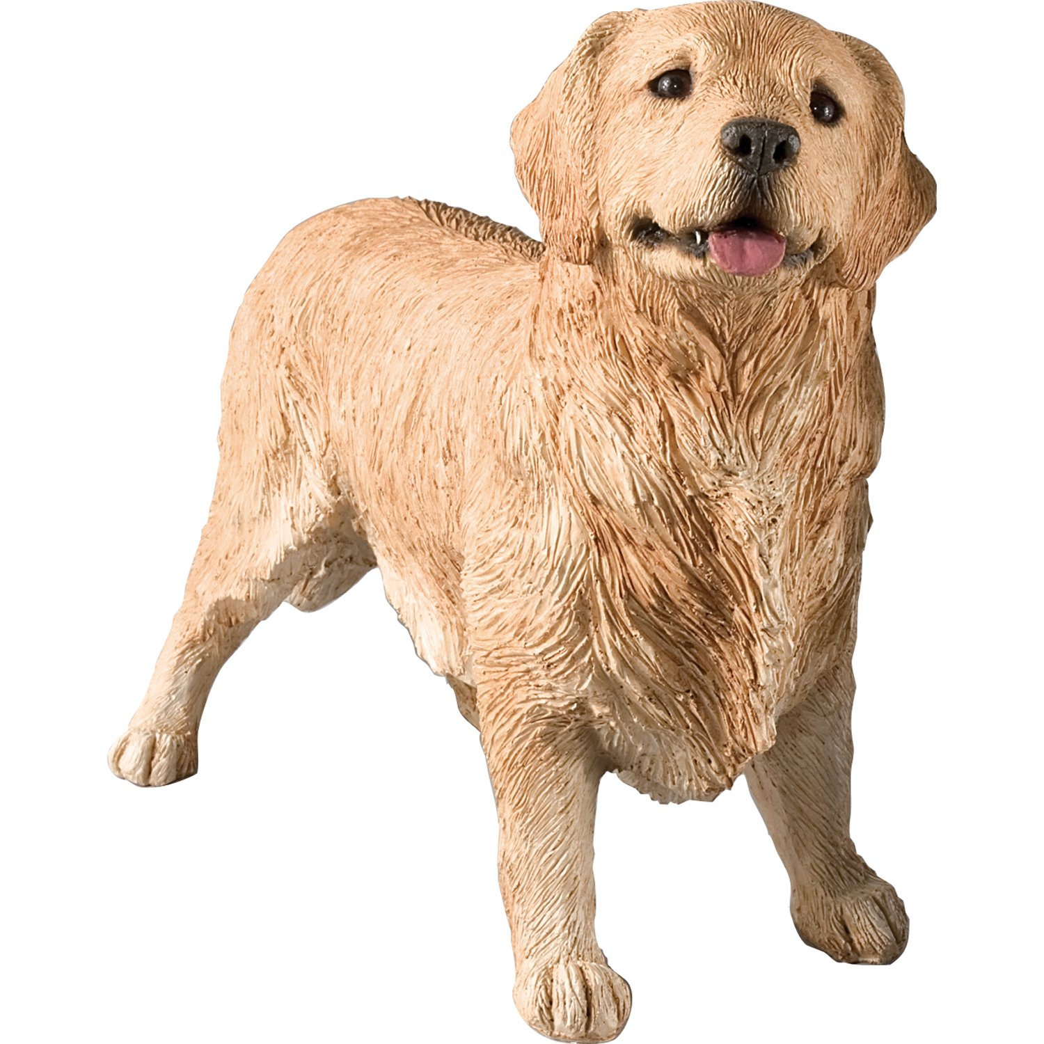Amazon.com: Sandicast Original Size Golden Retriever Sculpture, Standing:  Home U0026 Kitchen