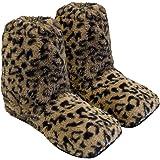 Körner-Sox Pantofole riscaldabili Ciabatte con Semi per microonde e ... cc6477919a7