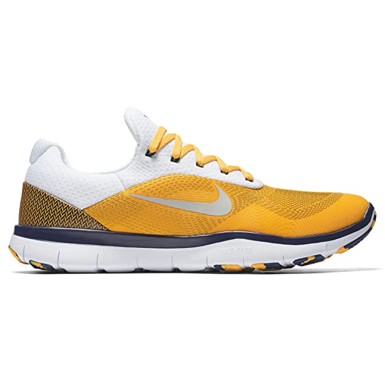Nike West Virginia Mountaineers Free Trainer V7 Week Zero Collection  College Shoes - Size Men's 9