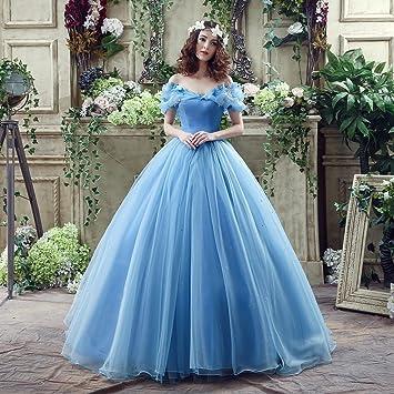 Imagenes de vestidos de novia color azul