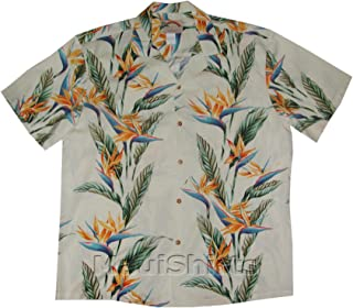 product image for Paradise Found Mens Bird of Paradise Panel Shirt