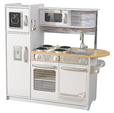 KidKraft Cucina Giocattolo Uptown in Legno-Bianca, Colore, 53364 ...