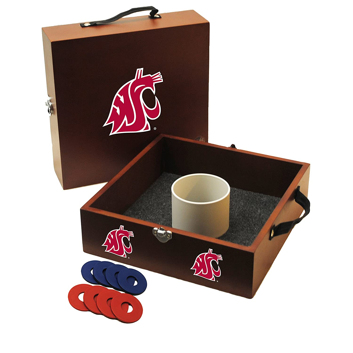 Wild Sports WT-NCAA-OSU NCAA Ohio State Buckeyes Washer Toss Game WT-D-OSU