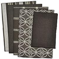 DII 100% Cotton, Ultra Absorbent, Oversized, Washing, Drying, Basic Everyday Kitchen Dishtowel 18 x 28 & Dishcloth 13 x…