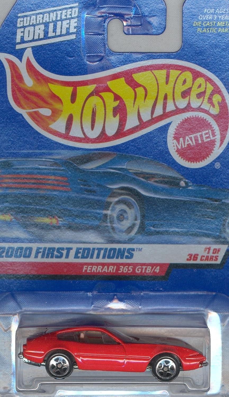 Hot Wheels 2000-061 First Edition FERRARI 365 GTB/4 1:64 Scale MATTEL