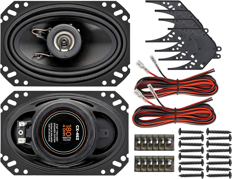 安装双向汽车扬声器系统