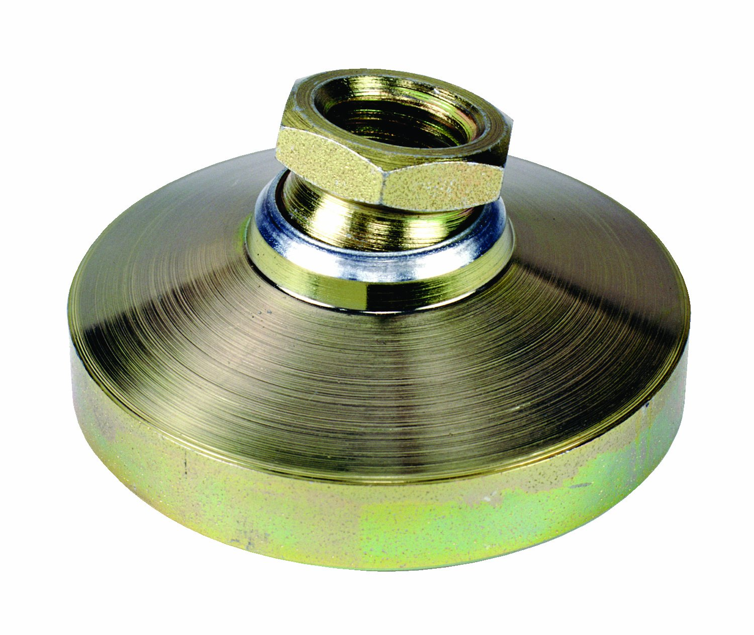 TE-CO 44434 Leveling Pad Zinc Plated, 3/4-10 Thread Size (2-Pack)