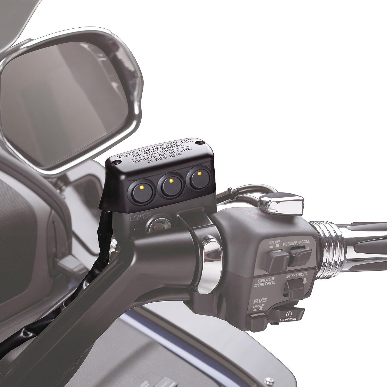 Show Chrome Accessories 52-705LMA Matte Black Clutch Side Switch Block