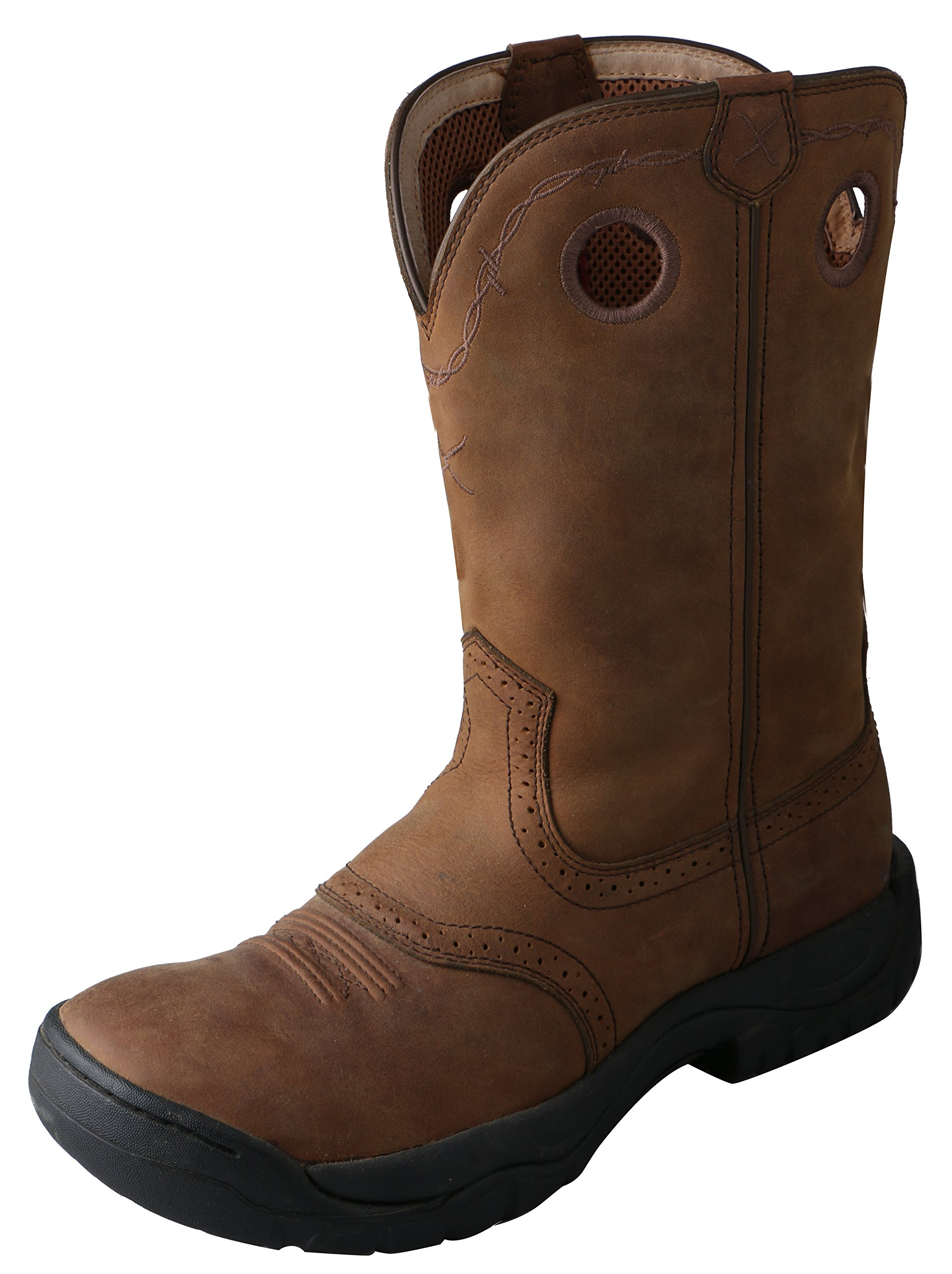 Twisted X Men's All Around Boot Distressed Saddle by Twisted X (Image #1)